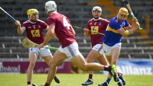 Mark Kehoe of Tipperary shoots to score his side's fourth goal