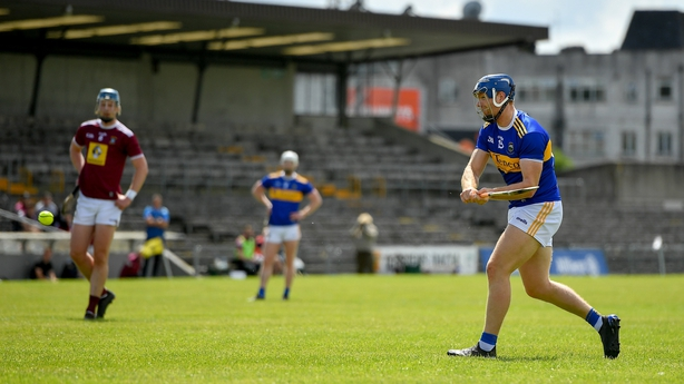 Jason Forde of Tipperary shoots to score his side's second goal