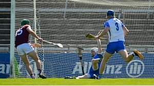 Concannon scoring Galway's third goal - his first
