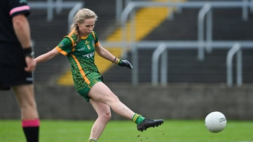 Meath's Stacey Grimes grabbed a brace of goals against Clare