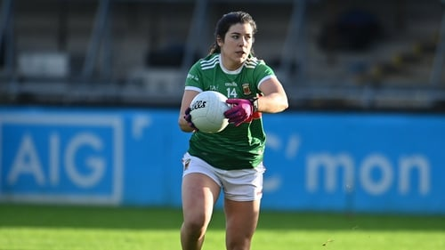 Dual sport star Rachel Kearns bagged a goal for Mayo