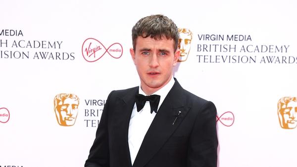 Paul Mescal attending the 2021 BAFTA TV Awards.