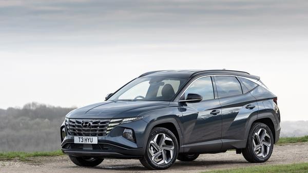 The Hyundai Tucson hybrid.