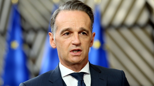 Germany's Foreign Minister Heiko Mass (file image)