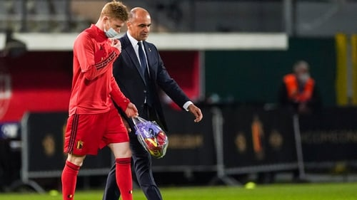 De Bruyne has joined up with Belgium squad