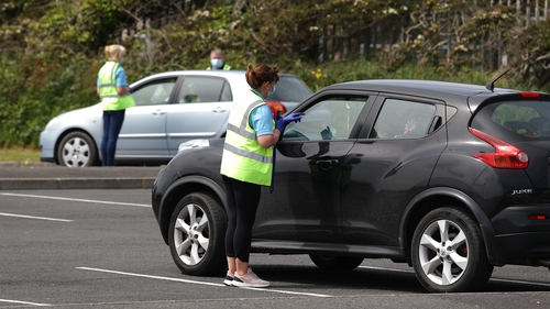 More than 1,000 tests were carried out in the area over the weekend