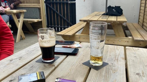 Bars sales jumped by 31.9% in August on a monthly basis, new CSO figures show
