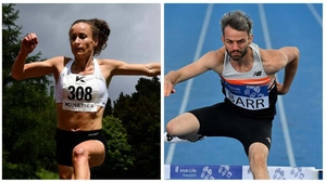 Michelle Finn and Thomas Barr have posted Olympic qualification times