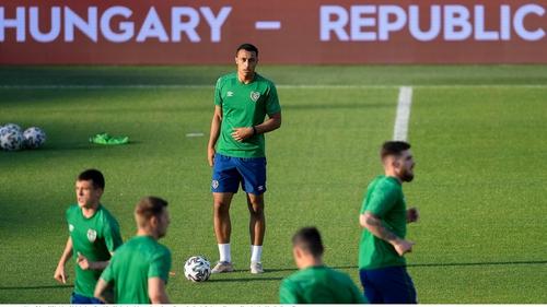 Will Adam Idah lead the line for Ireland tonight in Budapest?