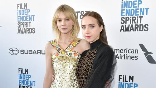 Carey Mulligan (L) and Zoe Kazan - To film She Said this summer