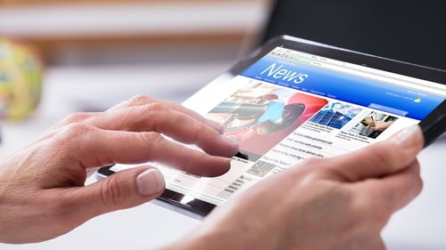The report found that 53% of consumers expressed positive levels of trust in the news media