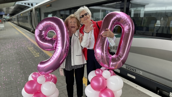 Kathleen Galligan (L) and Margaret Gilna 'have been best buddies all their lives', according to family members
