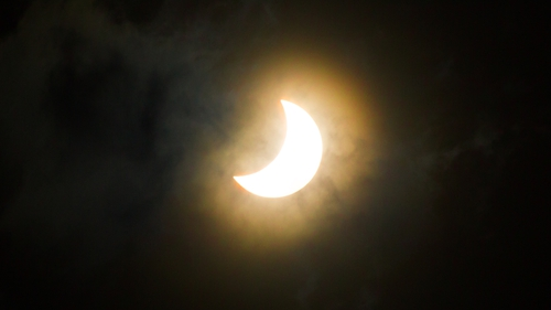 Thursday's event will be the deepest partial solar eclipse since 2015