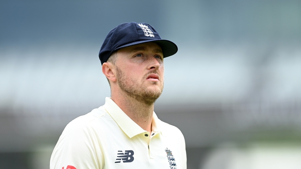 Ollie Robinson is currently suspended pending an England and Wales Cricket Board investigation into racist and sexist tweets he posted in 2012 and 2013