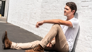 """Damian \McGinty: """"One thing that for sure has kept me grounded is home. family, the people of Derry, my Irish roots."""""""