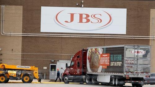 A JBS plant in Plainwell, Michigan