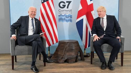 Joe Biden and Boris Johnson discussed the Good Friday Agreement