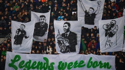 Fans return to Tallaght Stadium this evening