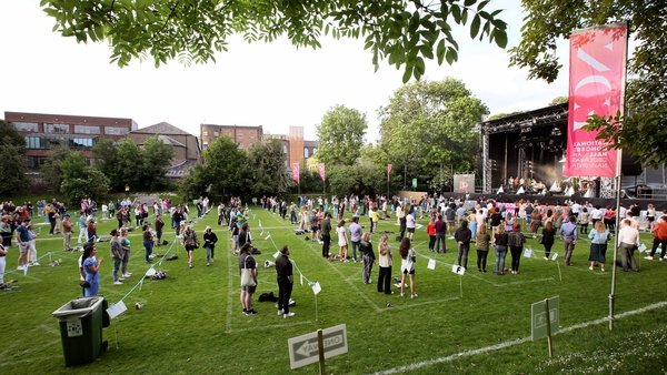 James Vincent McMorrow and Sorcha Richardson took to the stage in the Iveagh Gardens