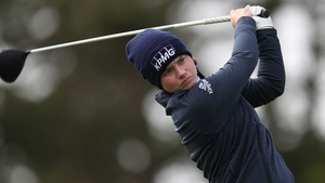 Leona Maguire shot nine birdies and two bogeys during her opening round