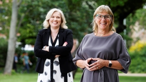 Tje CEO of European Movement Ireland, Noelle O'Connell, and its new chair Julie Sinnamon