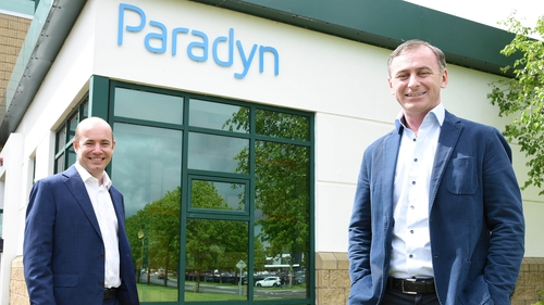 Paul Casey, Chief Operations Officer of Paradyn and Cillian McCarthy, CEO of the company