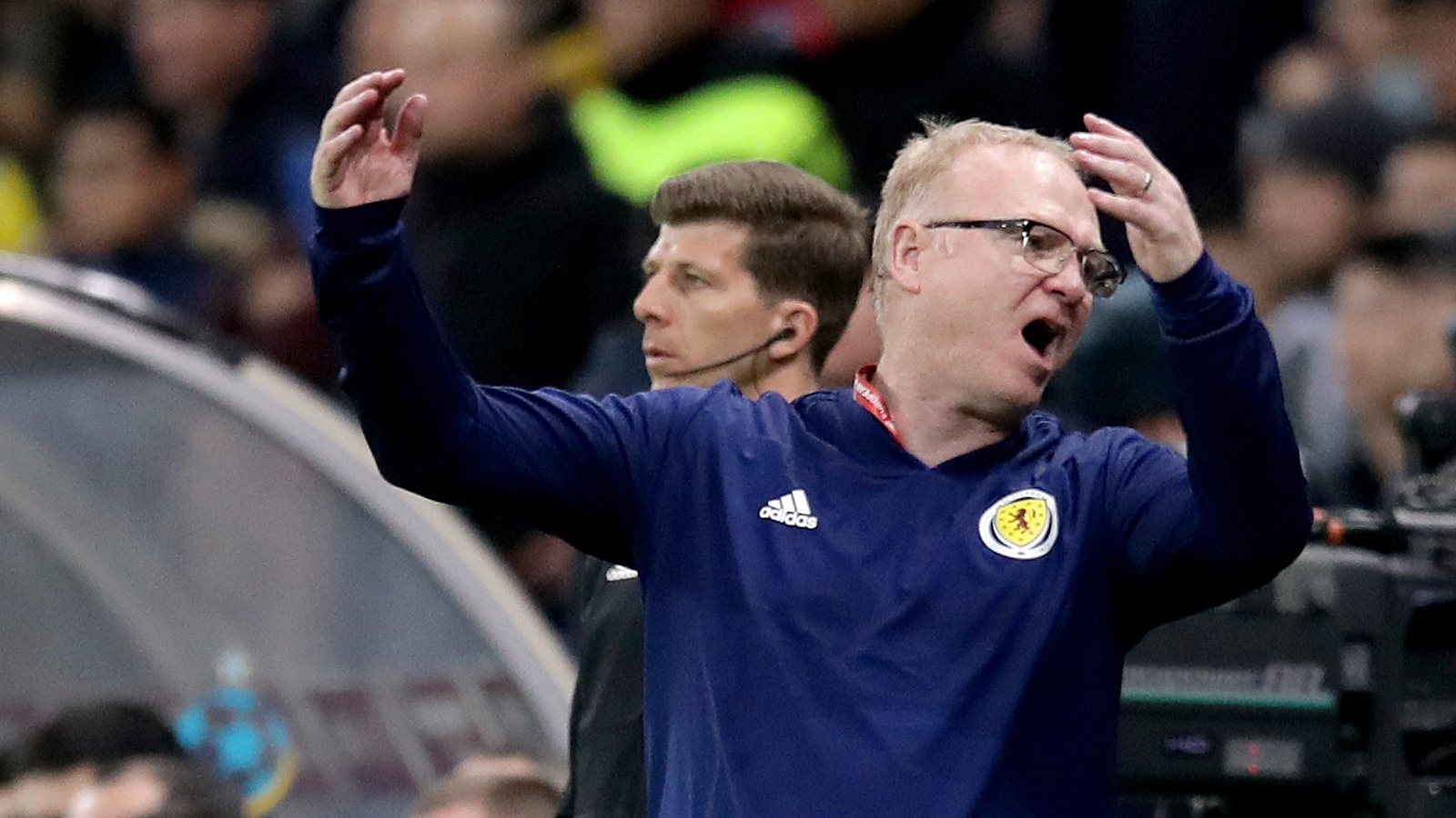 Image - Alex McLeish's side suffered a chastening defeat in Kazakhstan