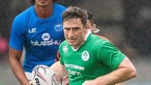 Billy Dardis will captain the Irish squad
