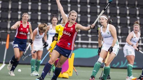 Sarah Evans put England 3-1 up