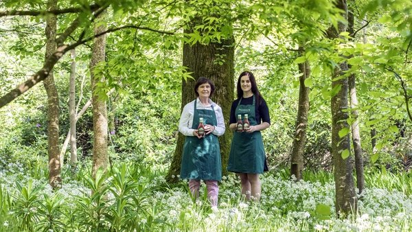 Mother and daughter, Yasmin and Maxine Hyde of Ballymaloe Foods