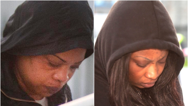 Alicia Edosa Edith Enoghaghase were found guilty of human trafficking, prostitution and money laundering (Pic: Westmeath Examiner)