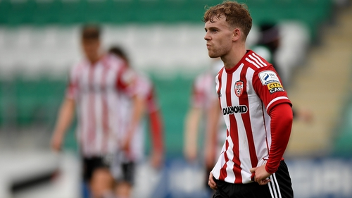 Marc Walsh rescued a point for Derry City