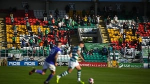 Fans were back at Tallaght Stadium on Friday night