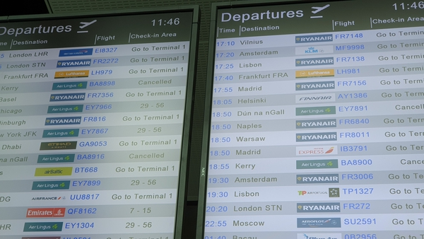 Cancellations on all Aer Lingus regional flights