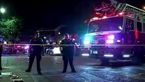 The incident took place at around 1.30am in Austin's entertainment district
