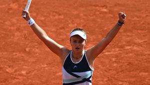 Barbora Krejcikova is the first Czech winner of women's French open since 1981
