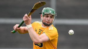 Conal Cunning struck nine points for Antrim as they accounted for Laois in Corrigan Park