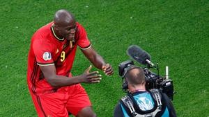 Romelu Lukaku shouted 'Chris, I love you' after scoring for Belgium against Russia