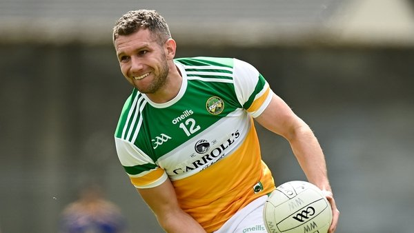 Anton Sullivan was in great scoring form for Offaly in the first half