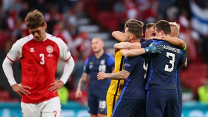 Denmark played on and lost the match 1-0