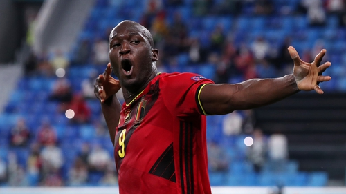 Romelu Lukaku struck twice to earn Belgium a 3-0 win against Russia