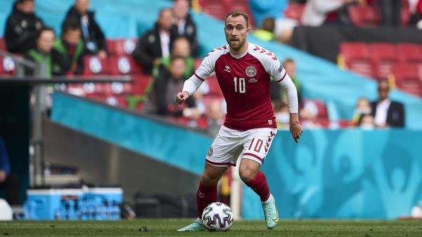 Christian Eriksen collapsed during Denmark's Euro 2020 group game against Finland