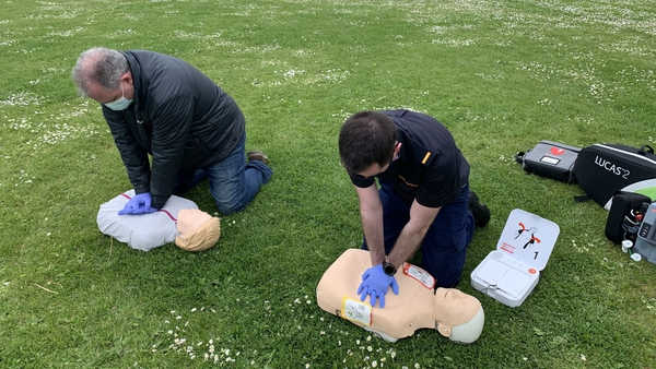 Ireland has one of the best rates of bystander CPR in the world