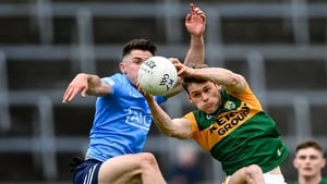 Dublin and Kerry drew in the league last month