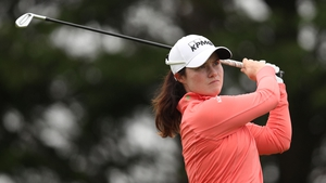 Leona Maguire had led after the opening round