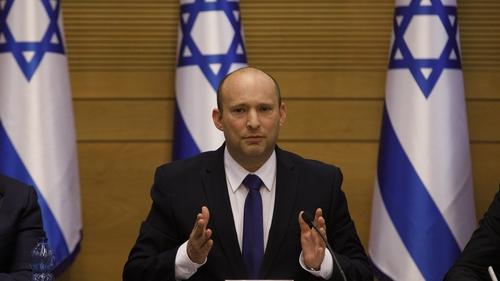 Naftali Bennett was sworn in as Israel's new Prime Minister