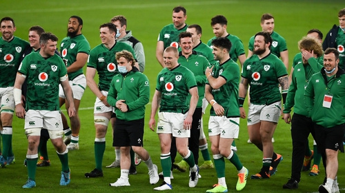 Ireland were due to travel to Fiji but that tour was cancelled