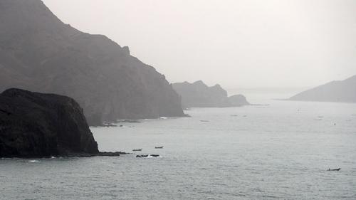 The Bab al-Mandab strait separates Djibouti from Yemen