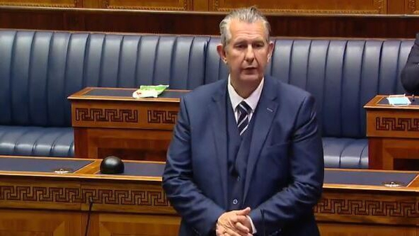 Edwin Poots said Arlene Foster has had a 'hugely successful' career