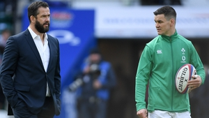 Andy Farrell has given Johnny Sexton the summer off